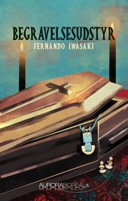 Omslag mikrofortællinger Begravelsesudstyr til køb ISBN 978-87-970551-1-3 Begravelsesudstyr mikrofortællinger, der er djævelsk skrevet